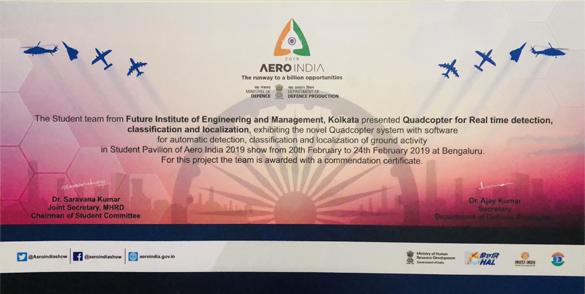 """""""Student Pavilion"""" in AERO INDIA – 2019"""